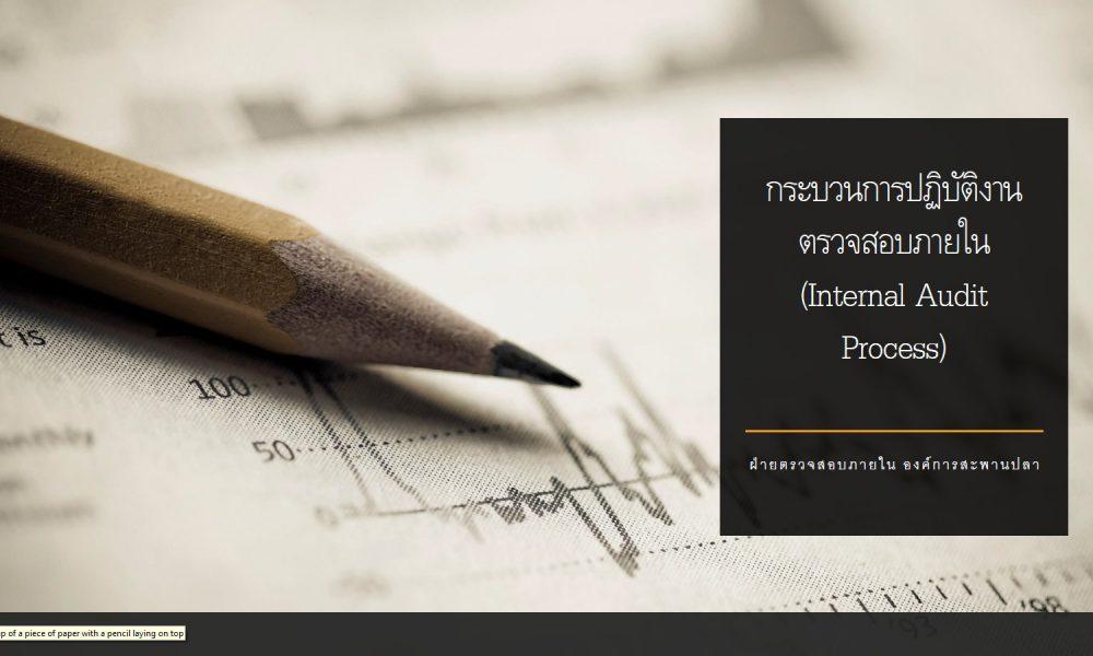 กระบวนการปฏิบัติงานตรวจสอบภายใน (Internal Audit Process)